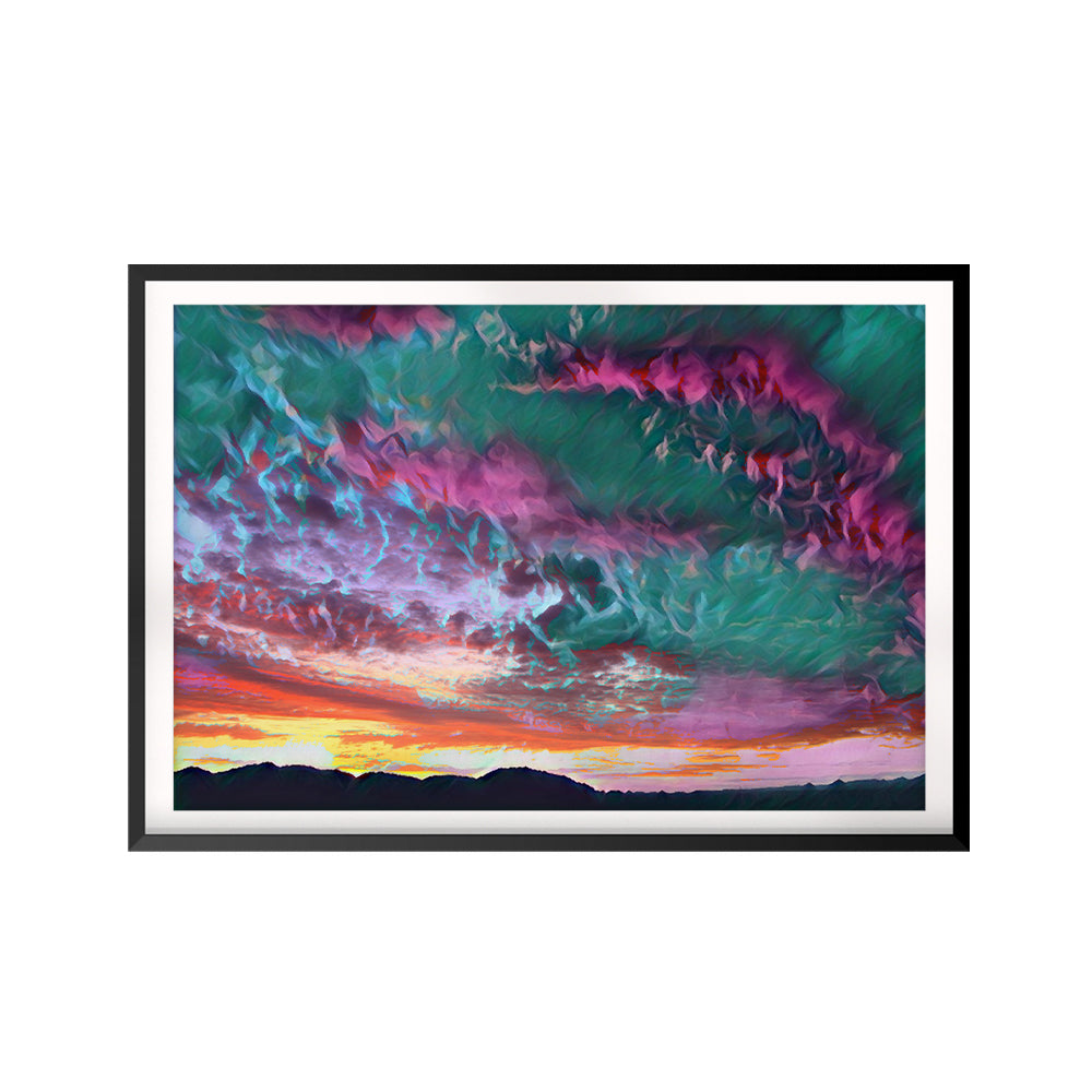 Sky & Cloud UNFRAMED Print Nature Wall Art