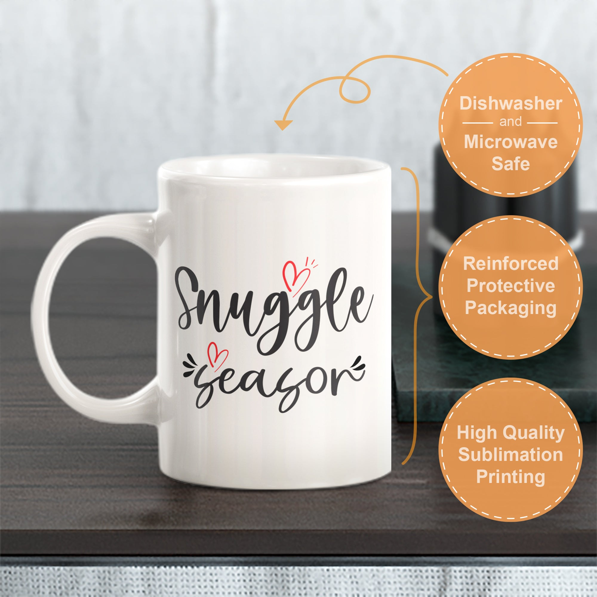 Snuggle Season Coffee Mug