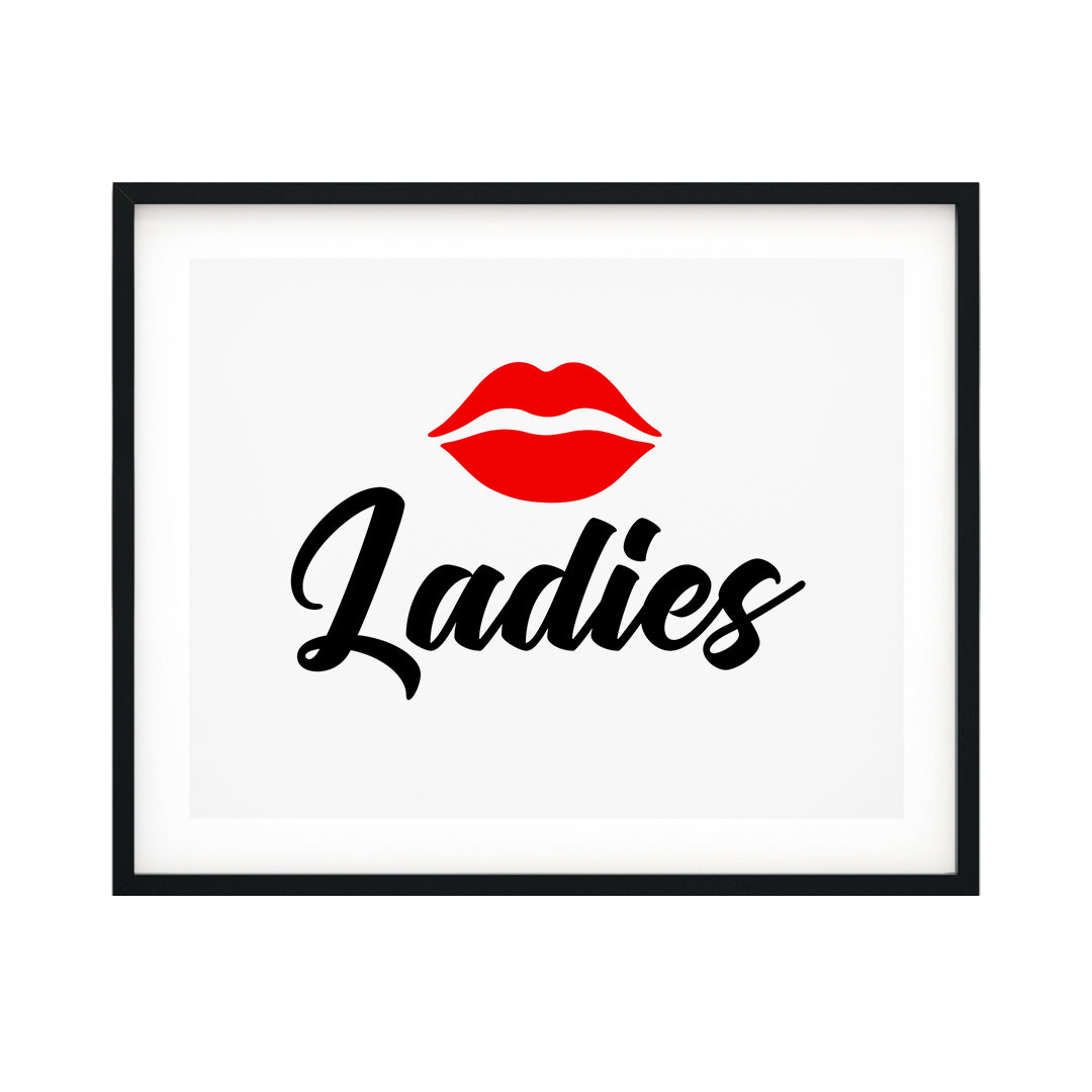 Ladies UNFRAMED Print Business & Events Decor Wall Art