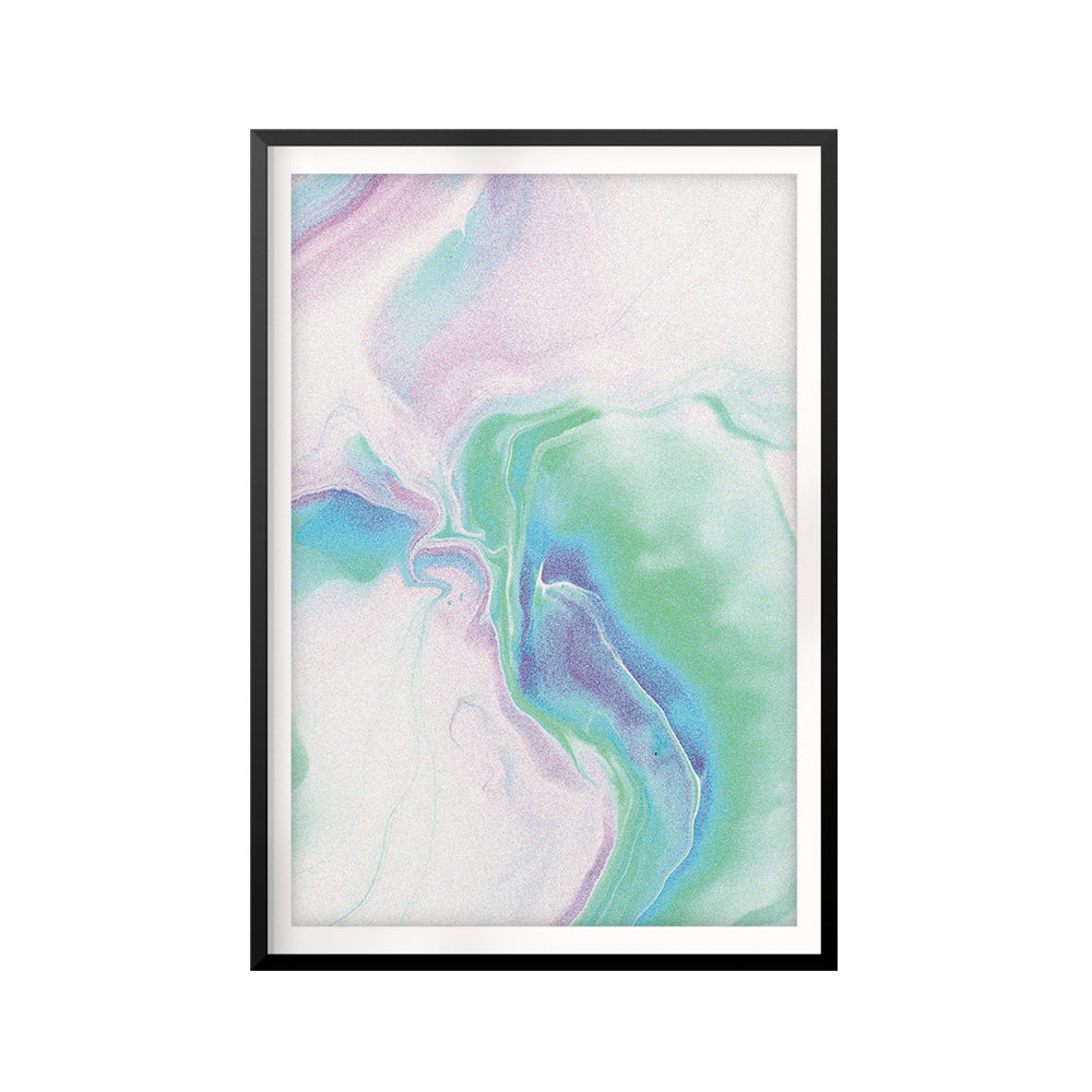 Nebular Abstract UNFRAMED Print Abstract Wall Art