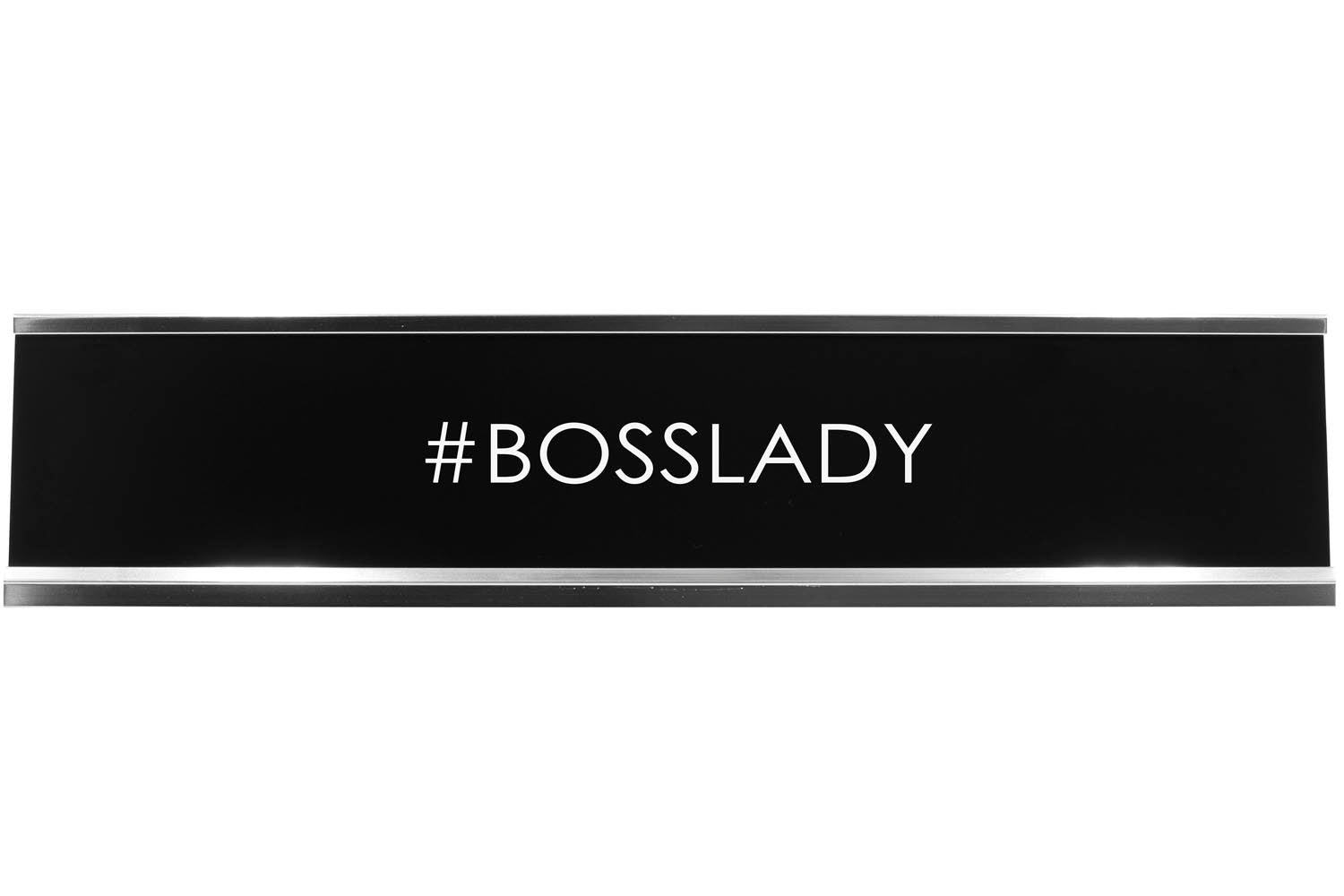 #Bosslady Novelty Desk Sign