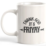 Thank Gods Its Friyay Coffee Mug