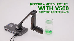 Record A Micro Video With Joy-Doccam V500 For Your Science Class.