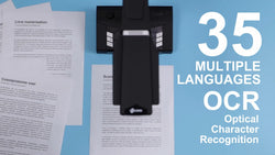 A Book Scanner Supports 35 Main Languages OCR Recognition