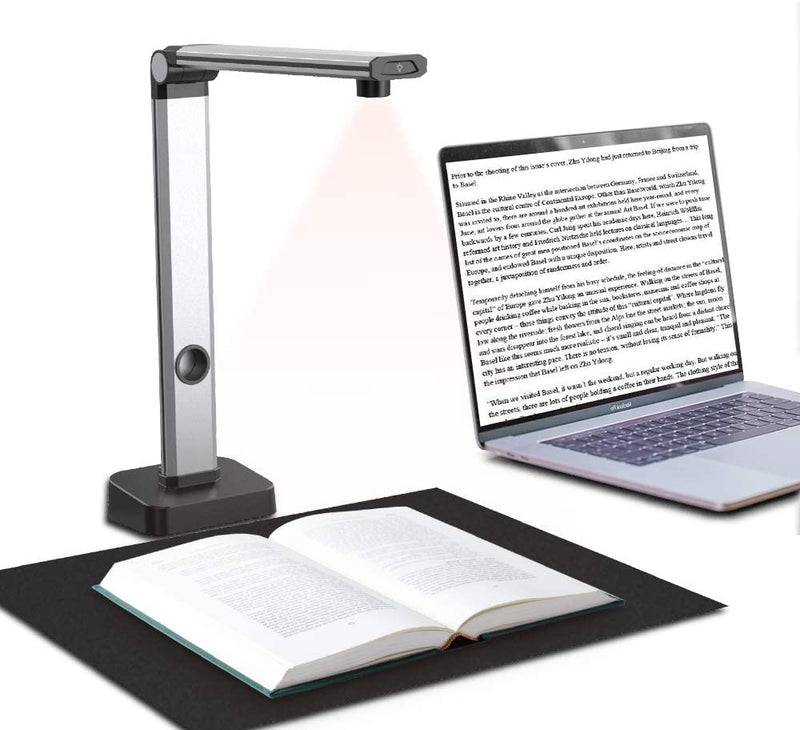 JOYUSING 14MP HD Book & Document Scanner, Auto-Flatten & Capture Size A3,Smart Multi-Language OCR, Pdf, for Online Teaching, Distance Learning and Web Conferencing Not Compatible with Mac OS…