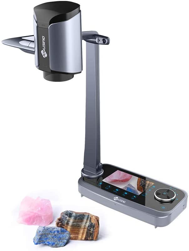 JOYUSING V1XS High-Definition 12x Optical Zoom & 10x Digital Zoom Document Camera with 5'' LCD Preview Screen