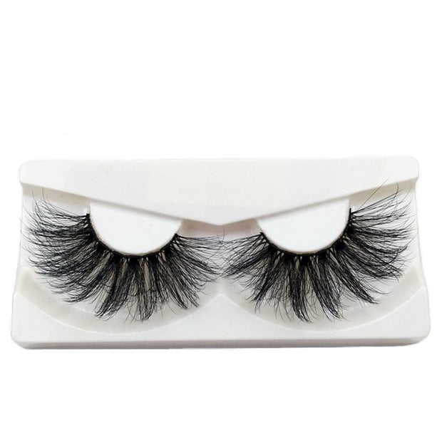 Criss-cross Lashes Thick Natural Lashes Wispies Fluffy Lashes Makeup-Makeup-HADES