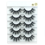 5 Pairs Natural Long Wispies Criss-cross Eyelashes Makeup-Makeup-HADES