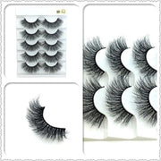 8styles 5/10Pairs/Set Multipack Natural Soft Cross Eyelashes-Makeup-HADES