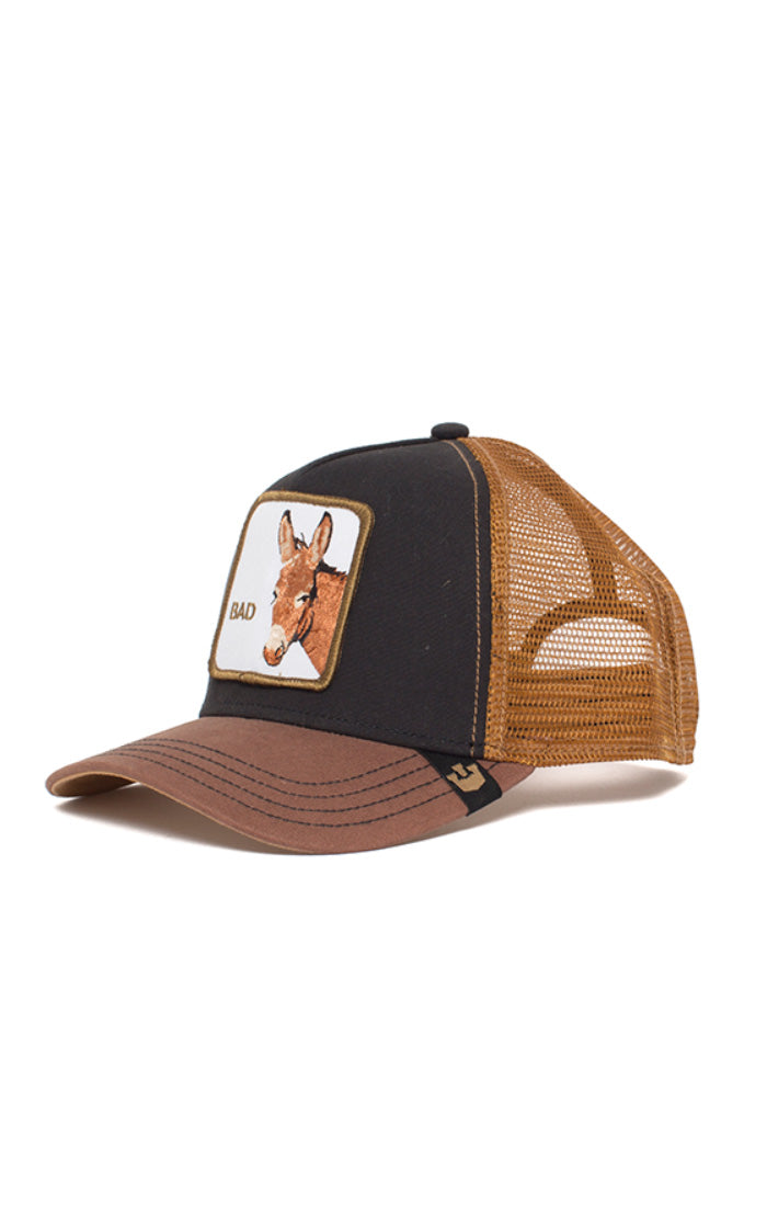 Goorin Trucker - Bad Ass - Black - Partisan, Parkhurst - side view