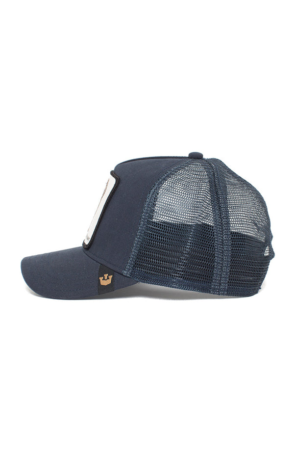 Elephant Trucker Cap - Navy