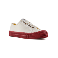 Novesta Star Master - Red sole, white top - Low Top Sneaker - Partisan, Parkhurst