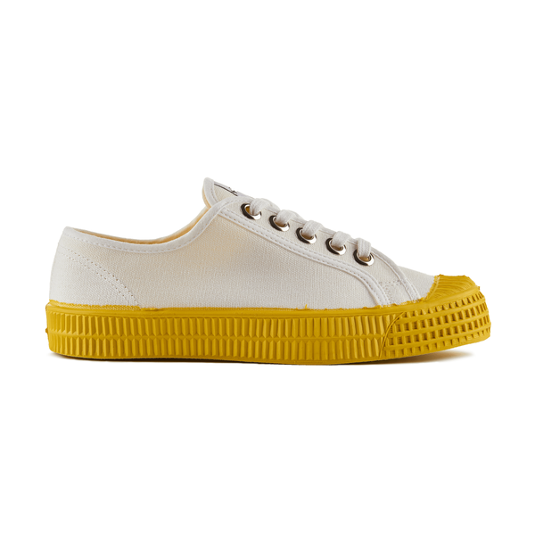 Novesta Star Master Low Top Sneaker - Yellow Sole - Partisan, Parkhurst - side view