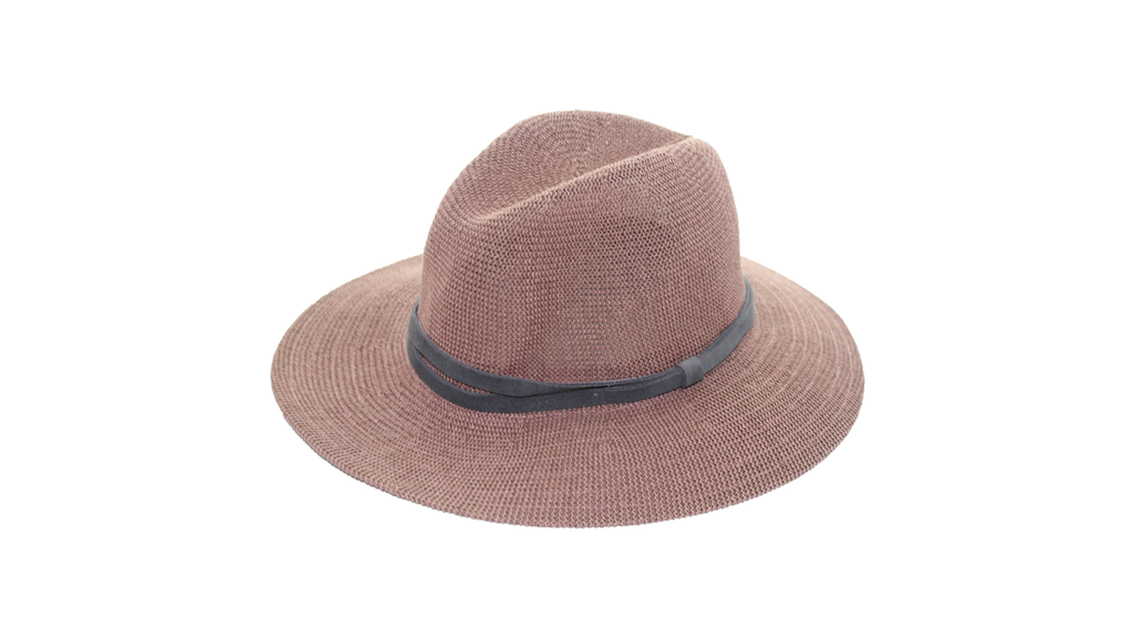 Fatima Straw Hat - Purple