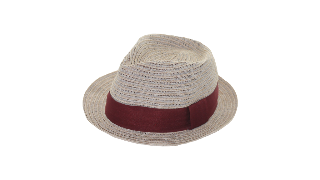 Goorins Bros - Ortega Straw Hat - Red Band - Partisan, Parkhurst, JHB