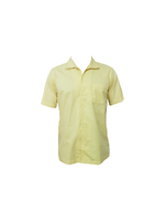 Partisan Original Cotton Shirt - Short Sleeve - Canary Yellow - Partisan, Parkhurst, Johannesburg