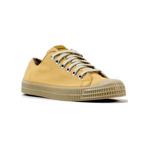 Novesta Mustard low top sneaker with beige sole