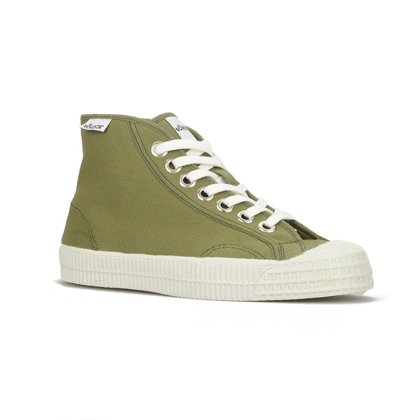 Novesta Rubber High Top Sneaker - military green colour - Partisan, Parkhurst, Johannesburg