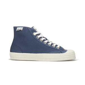 Novesta Star Dribble High Top Sneaker - Azure Blue - Partisan, Parkhurst, Johannesburg - side view