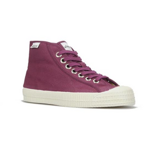 Novesta High Top Sneaker Wine Red Colour with Red Sole