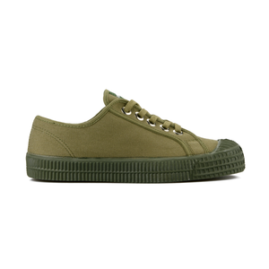Star Master Low Top Sneaker - Military Green - Partisan, Parkhurst - side view