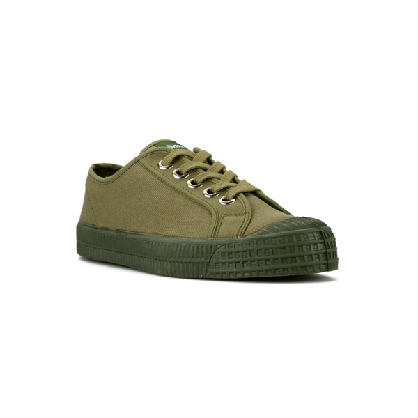 Star Master Low Top Sneaker - Mono Military Green - Partisan, Parkhurst