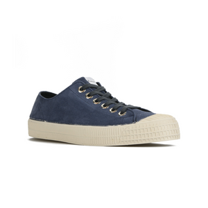 Novesta Suede Blue Shoe with white sole