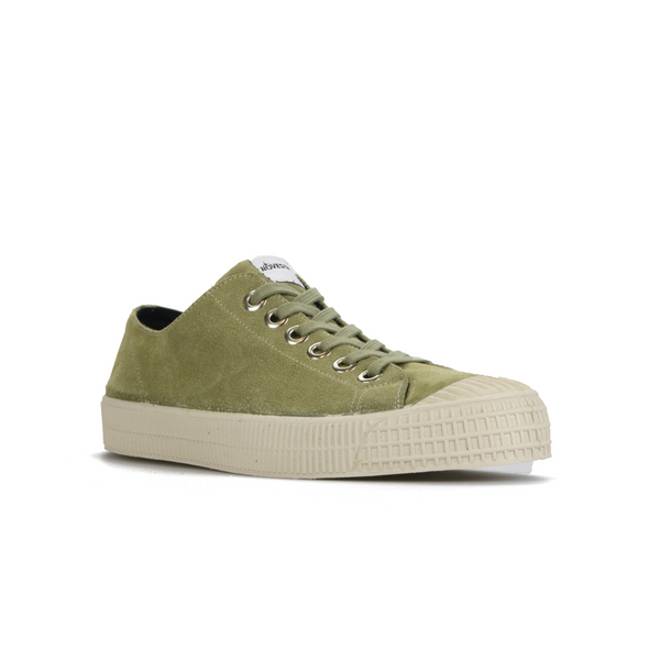 Star Suede Low Top - Olive/Wheat
