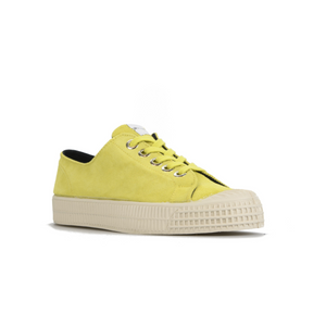 Novesta Suede Yellow Shoe with white sole