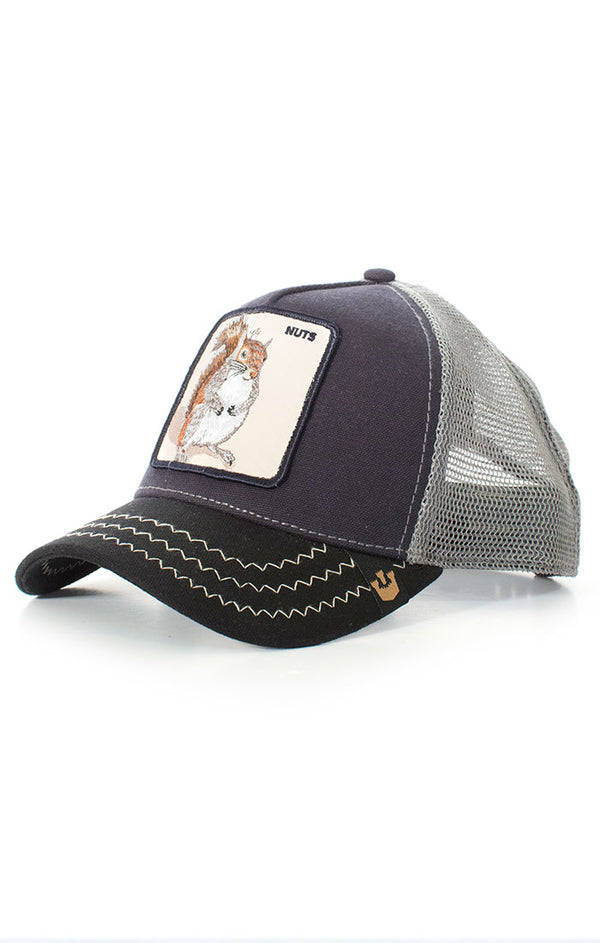 Goorin Bros - Trucker Cap - Squirrel, nuts - black - Partisan, Parkhurst, Johannesburg