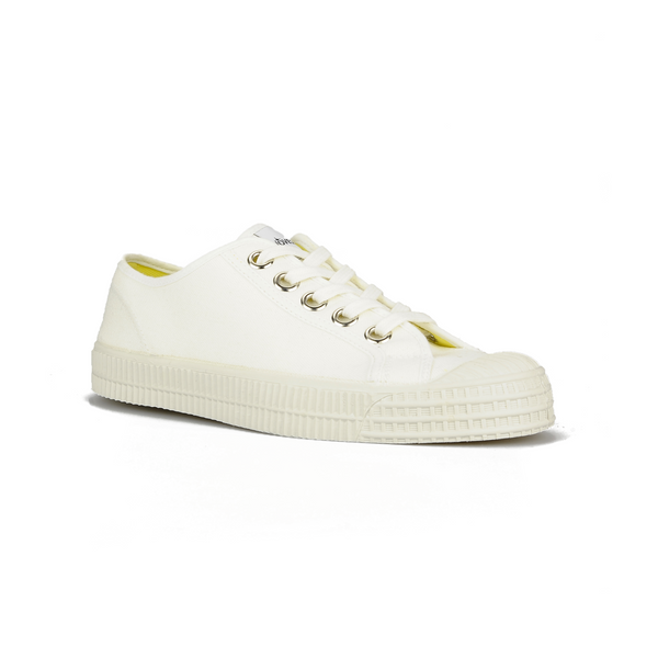 Novesta Star Master 10 Low Top Sneaker - All White - Partisan, Parkhurst