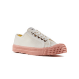 Novesta Star Master Low Top Sneaker - White top, pink sole - Partisan, Parkhurst