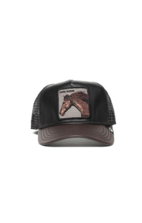 Your Majesty Trucker Cap (Leather)