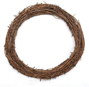 "10""/25cm Natural Vine Wreath Ring"