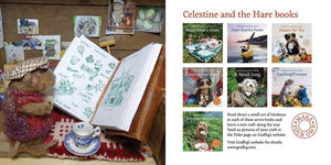 Celestine and the Hare Gift Set - 'Bert's Garden' Story Book and Ladybird Colours Felting Pack
