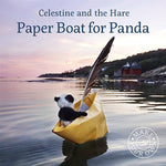 Load image into Gallery viewer, Celestine and the Hare Gift Set - 'Paper Boat for Panda' Story Book and Bumble Bee Colours Felting Pack