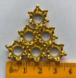 Load image into Gallery viewer, Pack of 6 Miniature Gold Crowns
