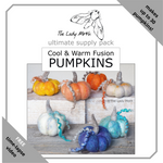 Load image into Gallery viewer, The Lady Moth COOL & WARM FUSION ultimate pumpkin supply pack