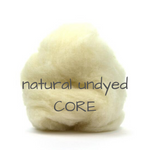 Load image into Gallery viewer, Carded Corriedale Slivers   Natural Undyed   perfect for CORE