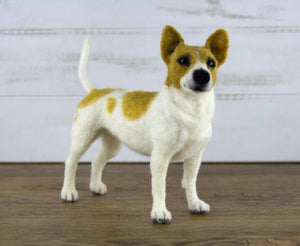 Russell the Jack Russell  Needle Felting Kit