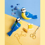 Load image into Gallery viewer, Blue Tits Needle Felting Kit