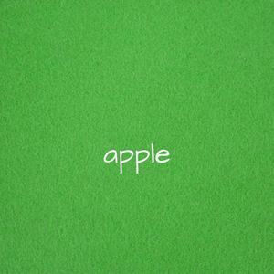 1.2mm Wool Felt - Apple