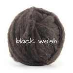 Load image into Gallery viewer, Carded Black Welsh Slivers