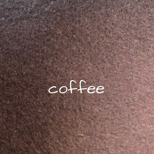 1.2mm Wool Felt - Coffee