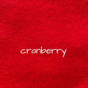 1.2mm Wool Felt - Cranberry
