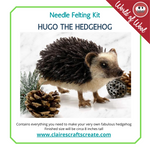 Load image into Gallery viewer, Hugo the Hedgehog  Needle Felting Kit