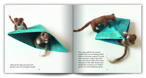 Celestine and the Hare Gift Set - 'Paper Boat for Panda' Story Book and Bumble Bee Colours Felting Pack