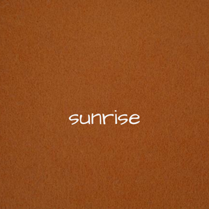 1.2mm Wool Felt - Sunrise