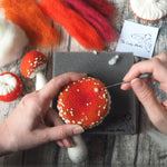 Load image into Gallery viewer, *NEW* Workshop in a Box - Needle Felted Toadstools by The Lady Moth