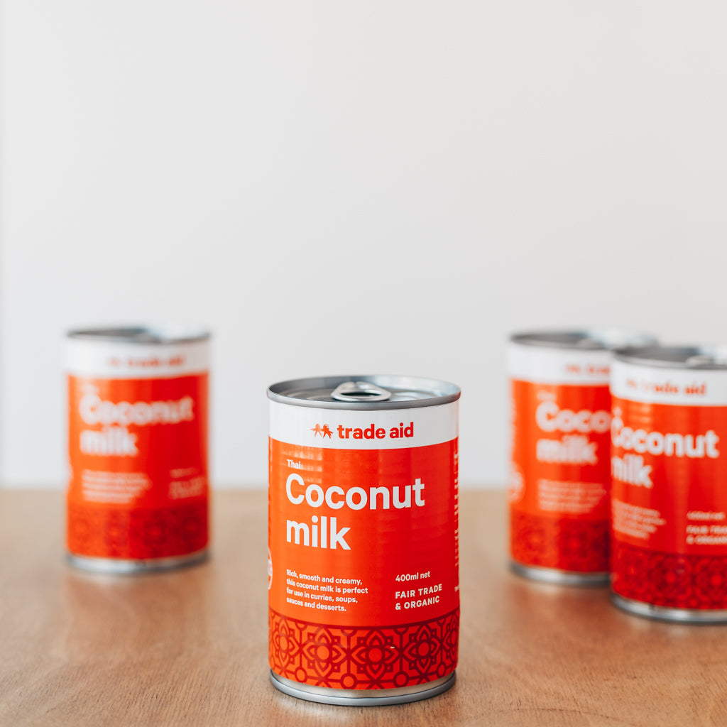 Trade Aid Canned Coconut Milk 400g